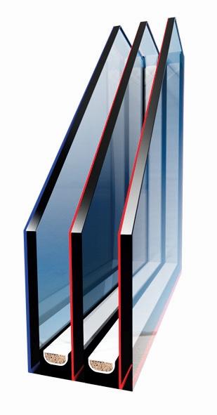 Pakiet trzyszybowy w oknie dachowym